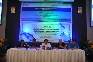 Learning Exchange for Coral Triangle Member Countries to  USAID Oceans and Fisheries Partnership's Learning site (Bitung)