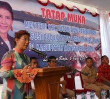 Kunjungan Kerja Menteri Susi Ke Manggarai Barat