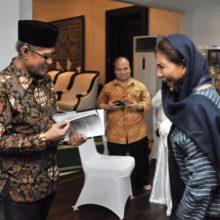 MKP Susi Pudjiastuti Mengadakan Acara Buka Puasa Bersama Pimpinan Pusat Muhammadiyah di Widya Chandra, Jakarta Selatan